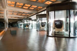 Figure 3: Masdar City's PRT lobby (Masdar Official, 2010).