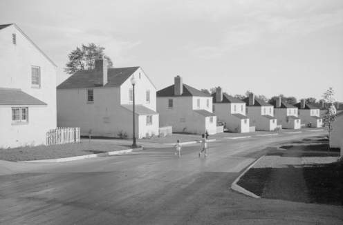 Houses in Greendale, Wisconsin.