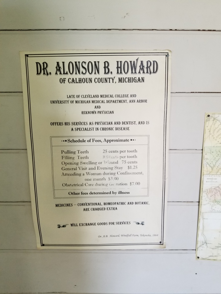 Dr. Howard Sign