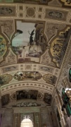 The interior of the Burgtheater in central Vienna.