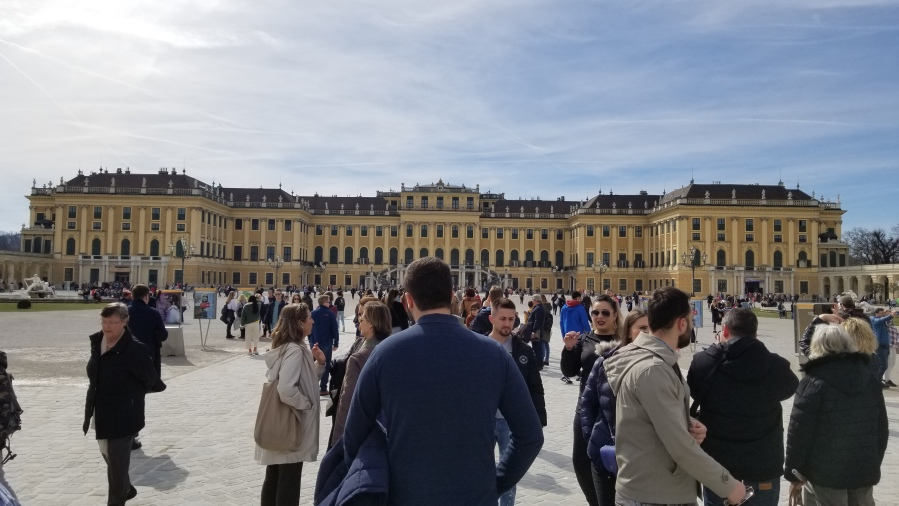 The Palace at Schönbrunn.
