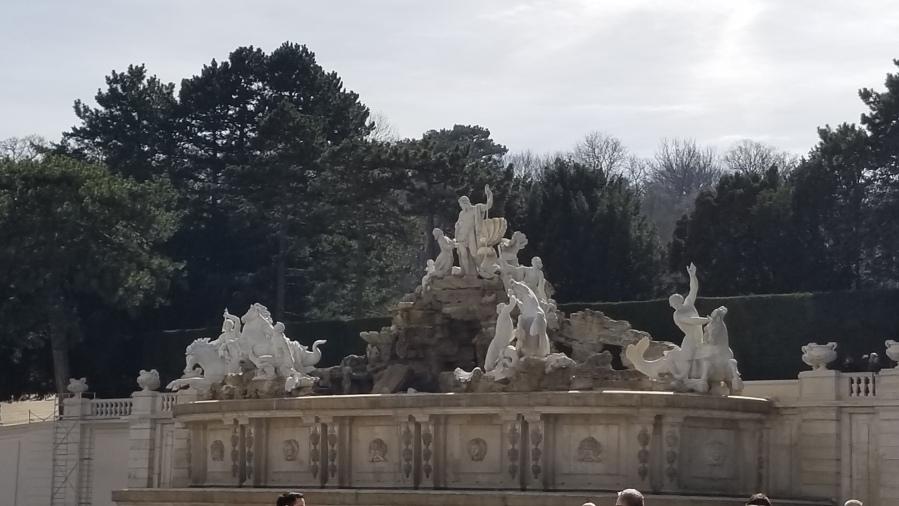 The Neptune Fountain at Schönbrunn.