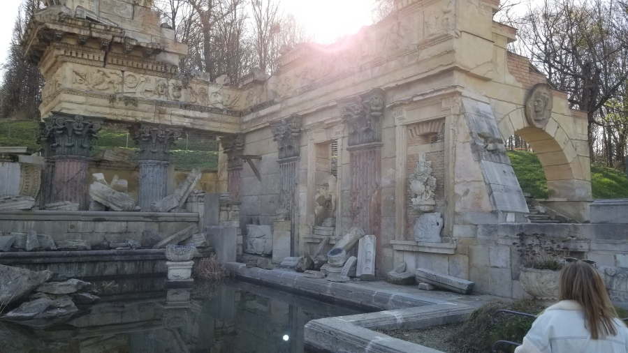 Part of the Roman Ruins at Schönbrunn. Spoiler alert: they were built in 1778 by the Habsburgs.