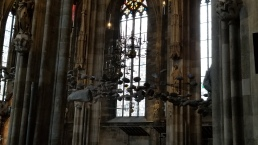 A portion of Sky of Stones by Peter Baldinger in St. Stephen's Cathedral.