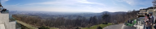 The view from atop the Kahlenberg.