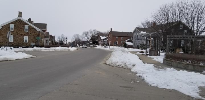 Main Street in Main Amana.
