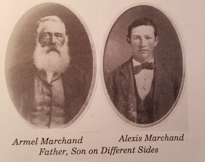 Armel and Alexis Marchand, a father and son who found themselves on opposite sides of the Icarian schism.