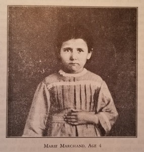 Marie Marchand, age 4.